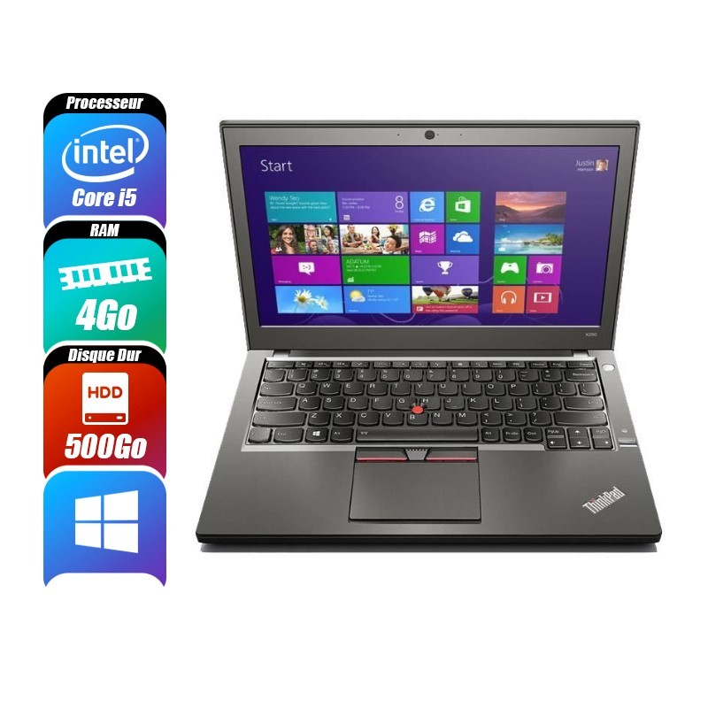 Ordinateurs Portables LENOVO THINKPAD X250 d'occasion