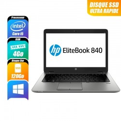 HP EliteBook 8440p Core i5 M520 2.4 GHZ 14 Pouces 4 Go / 250 Go WIN 7 Pro